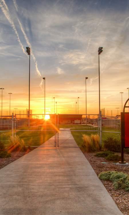 Softball & Baseball fields