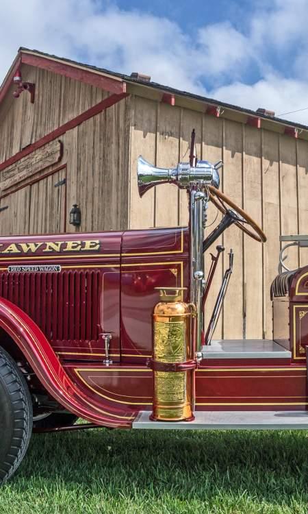 Shawnee Town 1929 Fire Truck