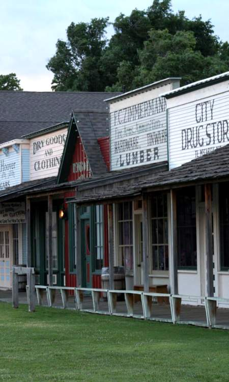 Boot Hill Museum Front Street
