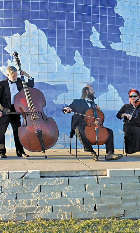 Newton Mid-Kansas Symphony Orchestra at Blue Sky Sculpture
