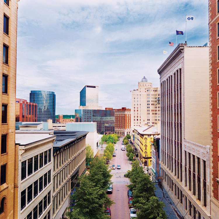 Grand Rapids - Downtown Cityscape