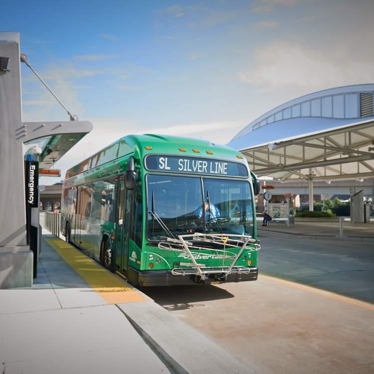 大急流城中央车站的快速巴士