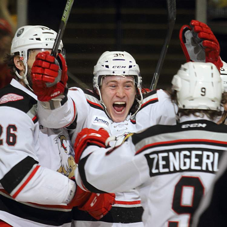 Fact: The Grand Rapids Griffins are the 2013 and 2017 Calder Cup Champions, which is the AHL Stanley Cup equivalent.