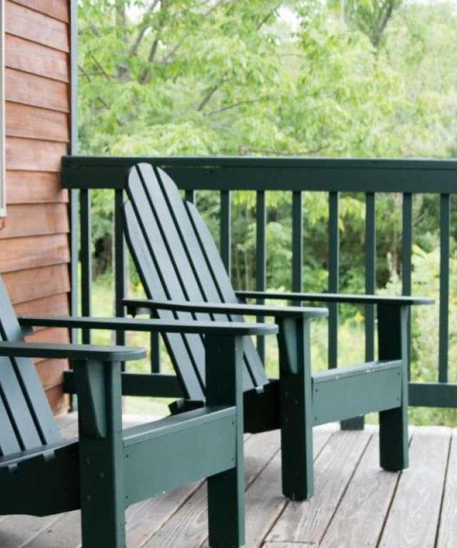 Adirondack Chairs at Grist Iron
