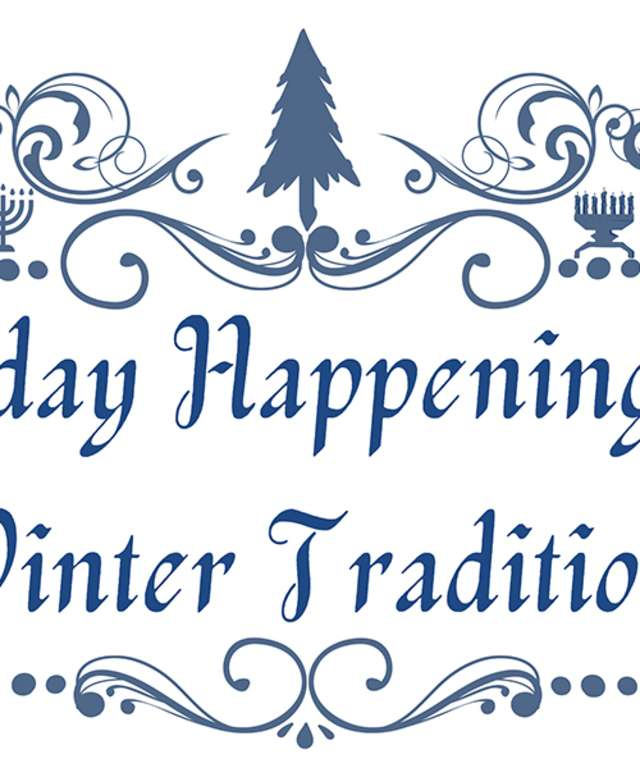 holiday happenings & winter traditions logo