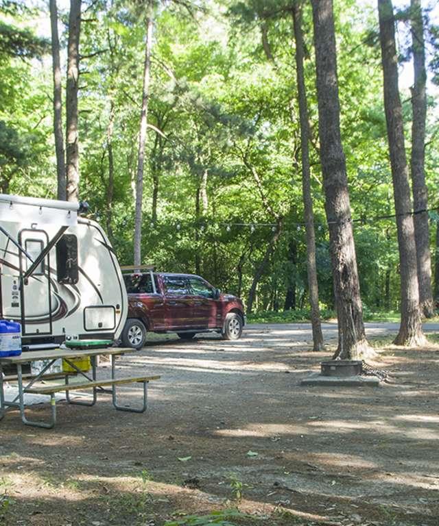 Camping at WGSP