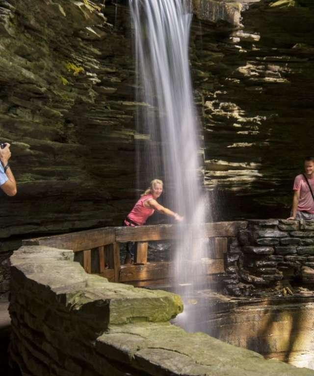 Watkins Glen State Park Cavern Cascade
