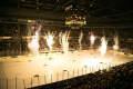 Interior shot of Van Andel Arena during a Griffins Hockey game.