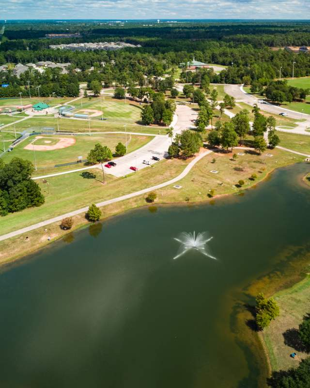 Overview of Conroe parks