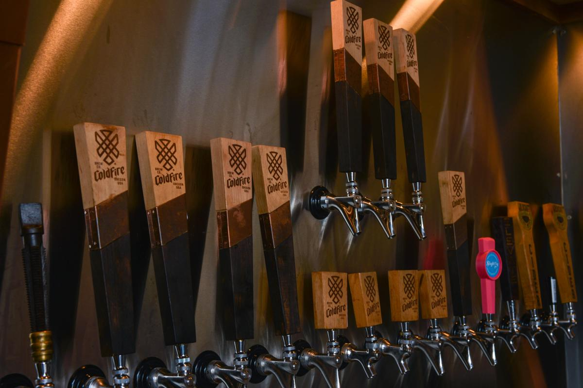 Taps at Coldfire Brewing