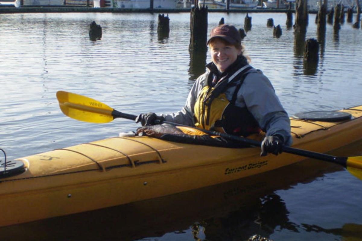 Paddling the Siuslaw River