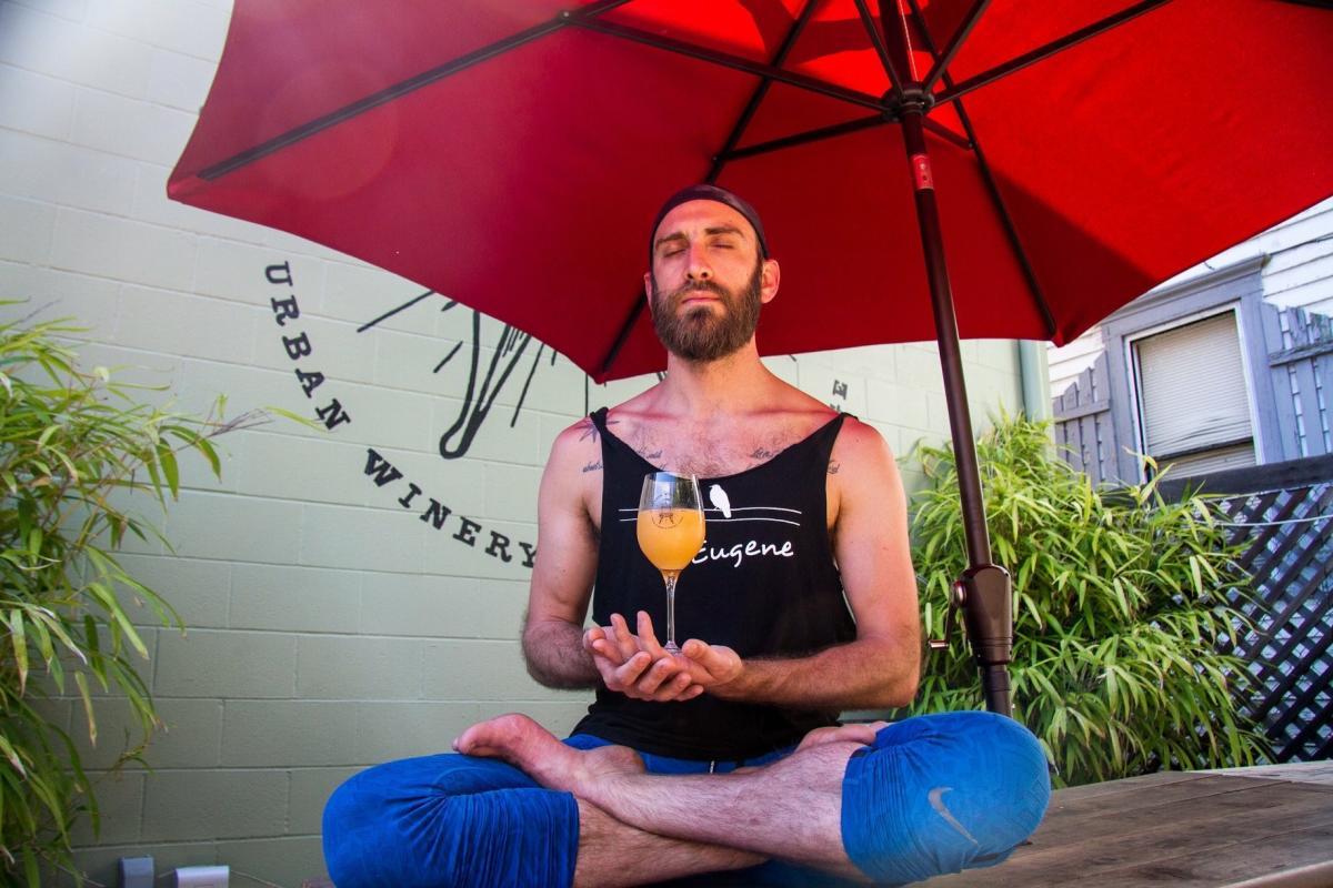 Oregon Wine Lab-Stop Drop & Yoga by Benjamin Wilkinson