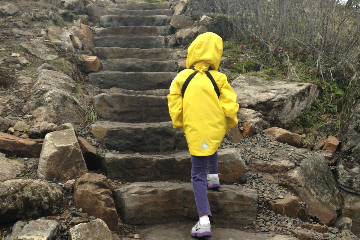 Hiking Spencer Butte by Taj Morgan