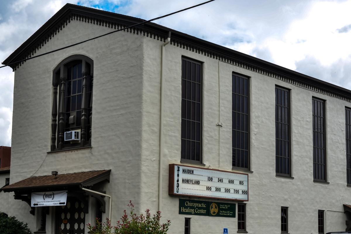 Bijou Art Cinema building by Melanie Griffin