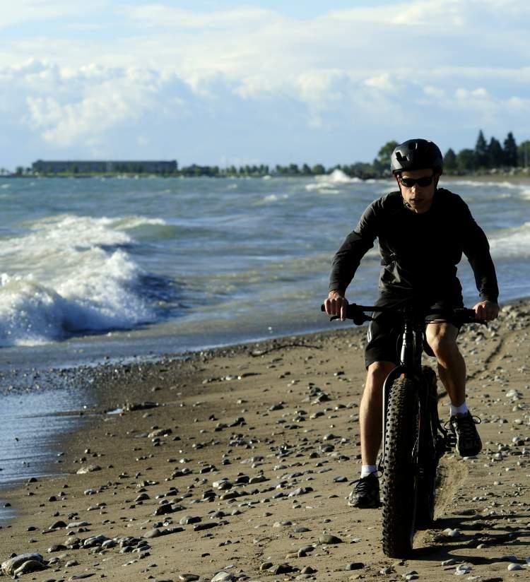 Fat Tire Biking on Beach