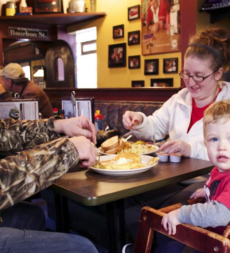 Frank's Diner - Family Breakfast
