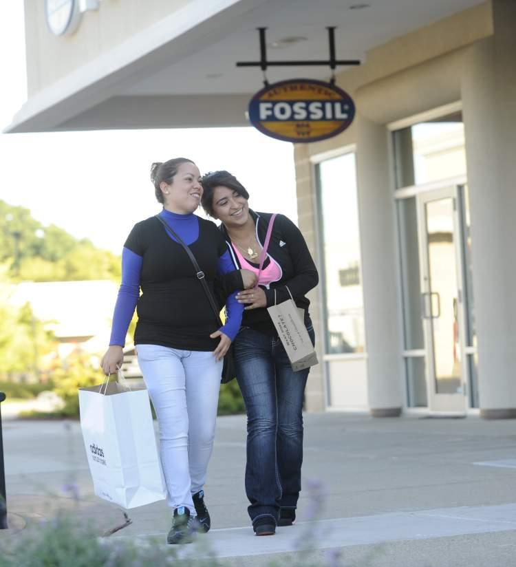 Mom & Daughter Shopping