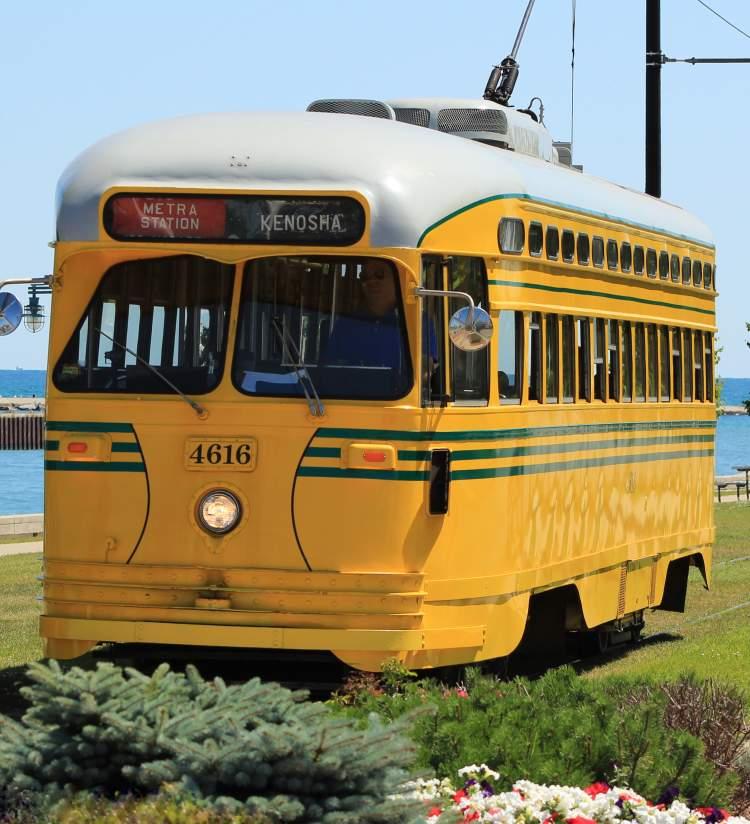 Classic Streetcar at Harbor Park