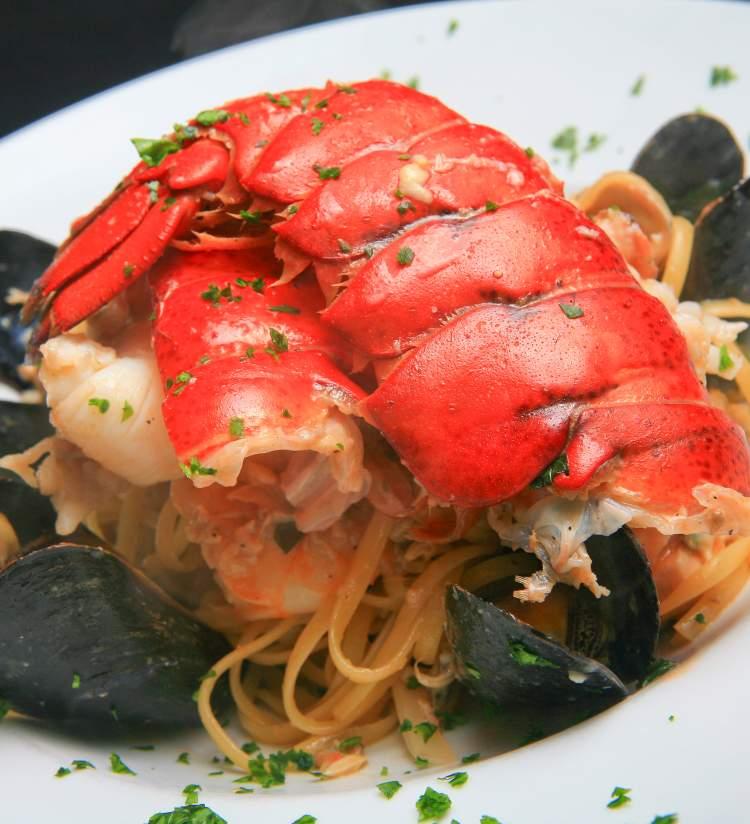 Tuscany Seafood Pasta