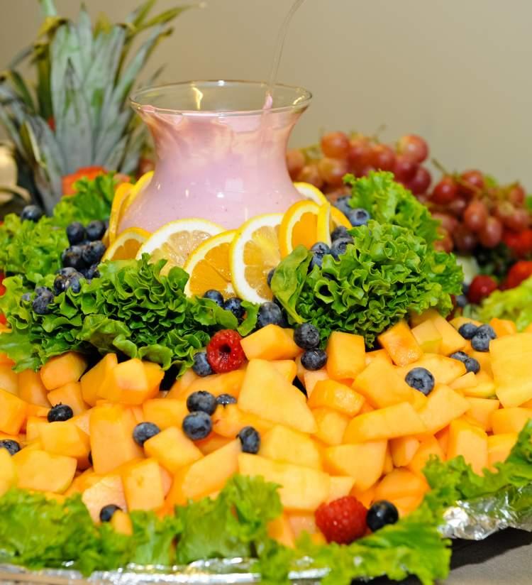 Twisted Cuisine fruit platter