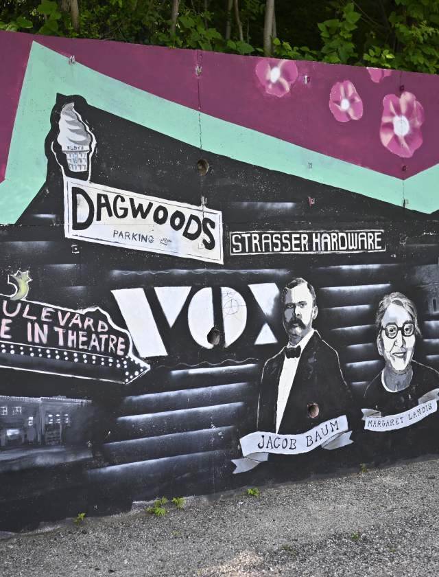 42nd Street Mural