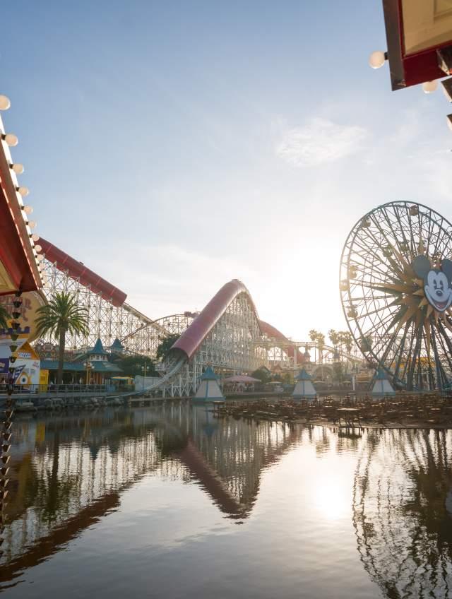 Disney California Adventure Park Pixar Pier Avengers Campus