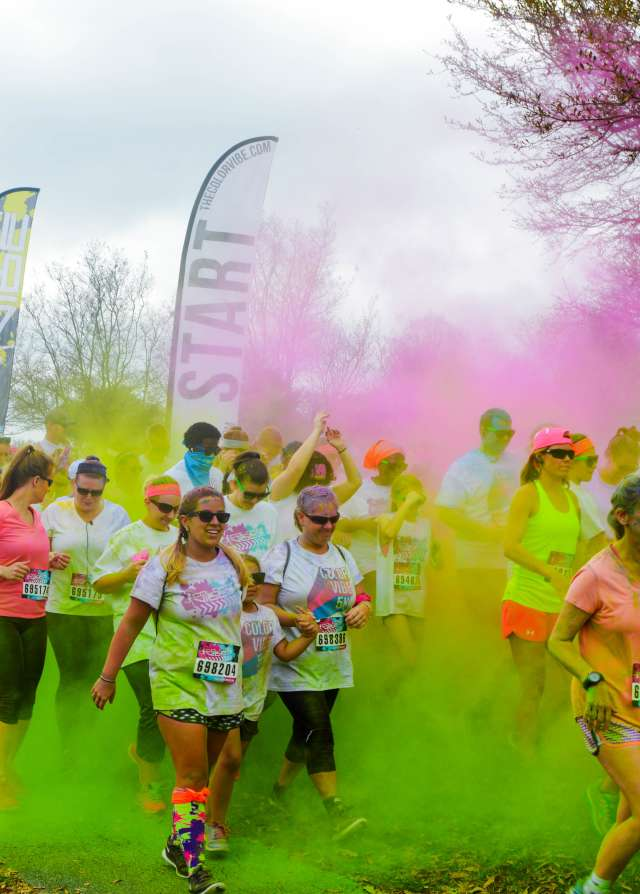 Color Vibe Run - Town Common