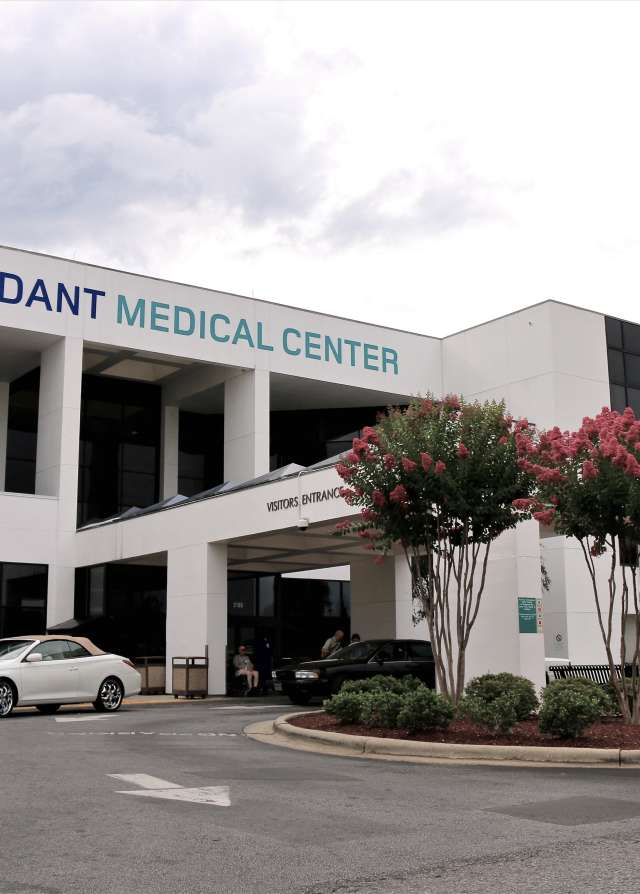 Vidant Medical Center Exterior