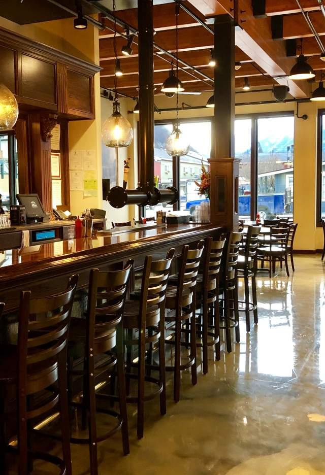 SBC empty bar dining
