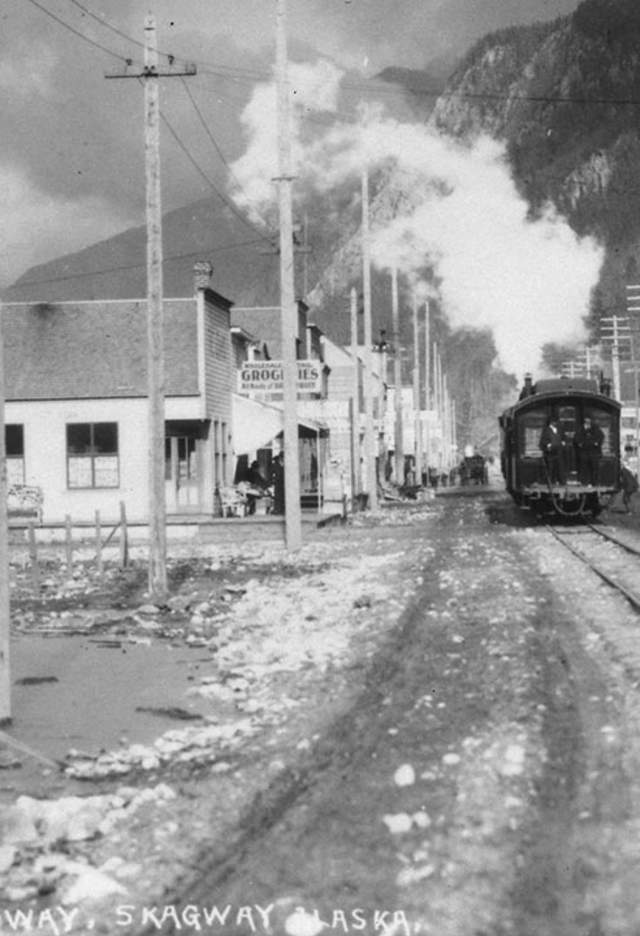 Train Platform Vintage Photo