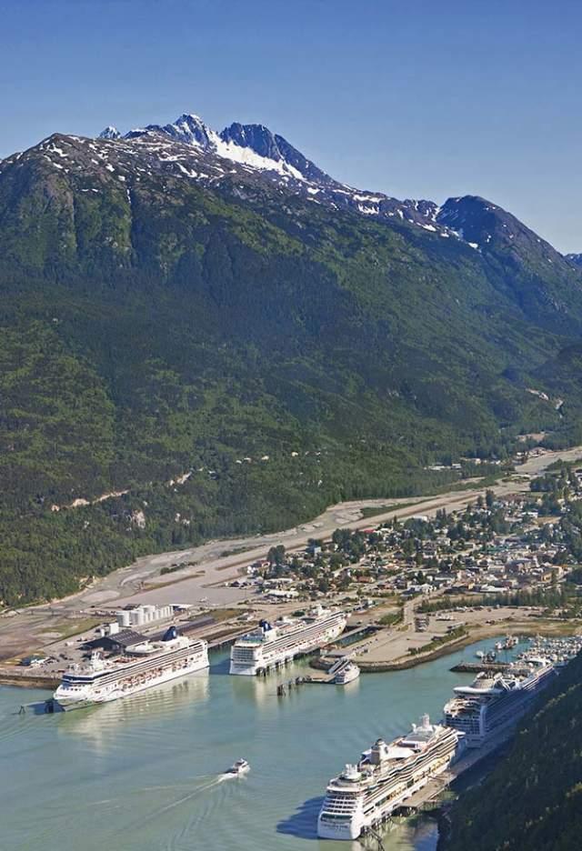 Skagway Port Aerial