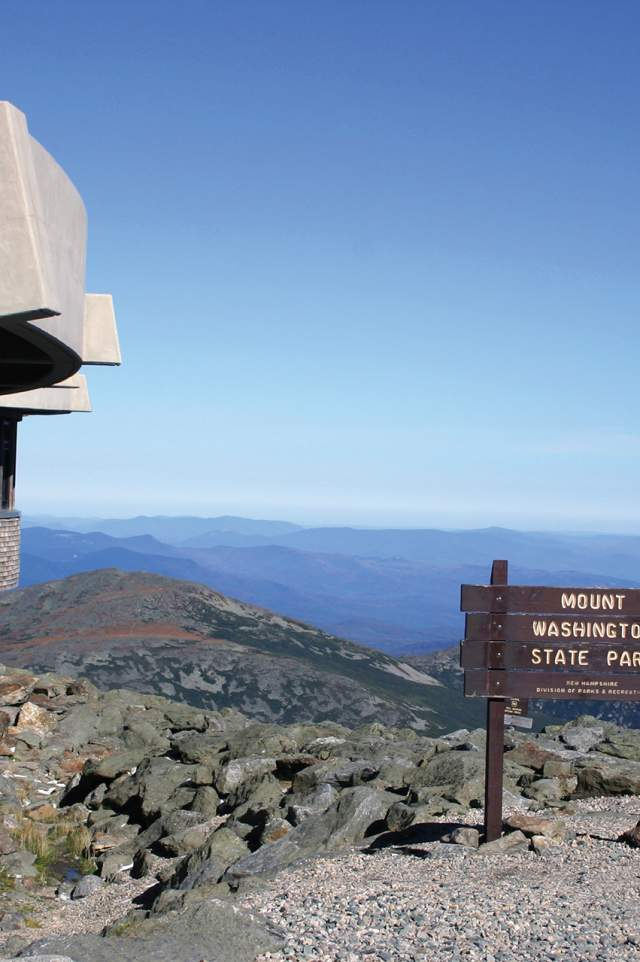 Top of Mt. Washington