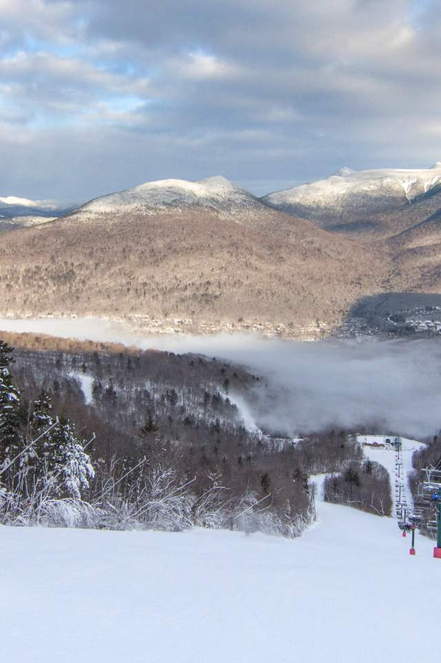 Skiing at Loon Mountain