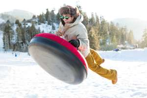 Extreme tubing in Park City