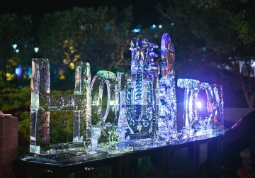Houston Ice Sculpture at Frostival