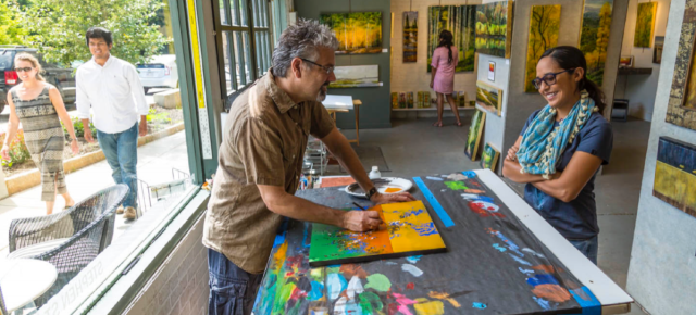 Broken Road Studio in River Arts District