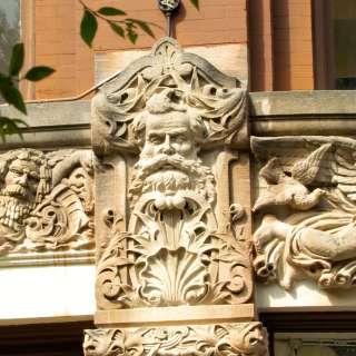 Victorian frieze
