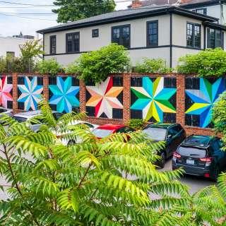 Bungy's Stars Mural