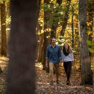 Hiking Near Asheville in Fall