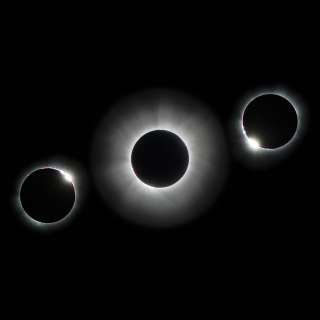 Sequence of a Total Solar Eclipse