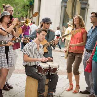 Buskers Downtown Asheville