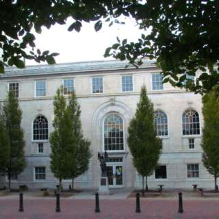 Pack Memorial Library Building - 1920s Architecture