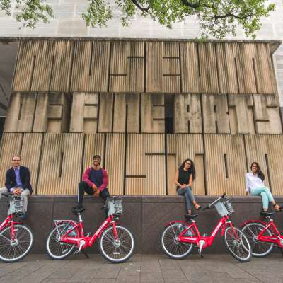 MFAH B-cycle bike tour