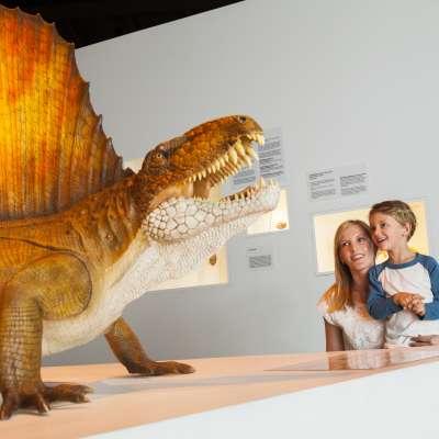 HMNS Dino - Mom and Kid