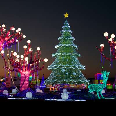 Christmas Runway Lights.Holiday Lights In Houston Best Christmas Displays Events