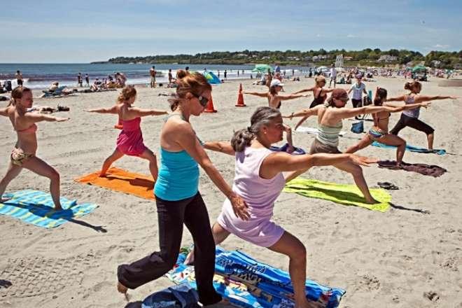 Copy of Yoga on the beach
