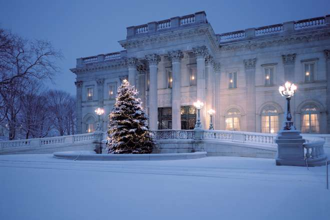 Christmas at Marble House