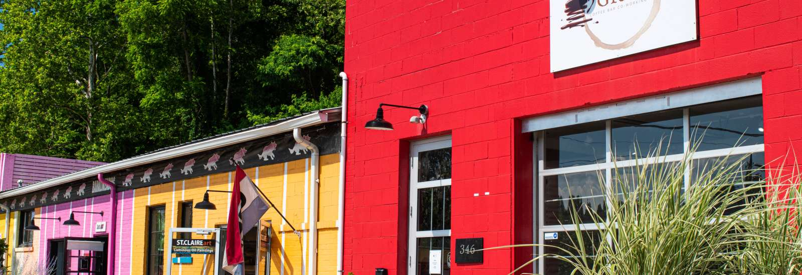 Grind AVL in Asheville's River Arts District is the city's first Black-owned coffee shop