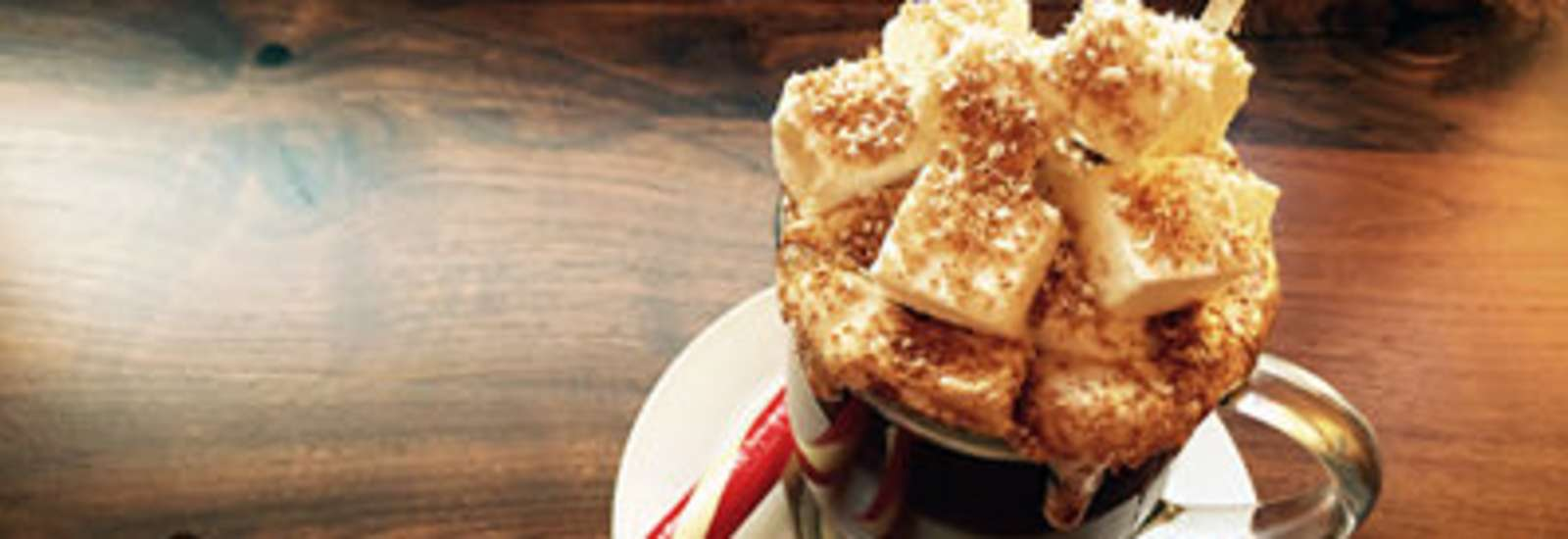 Salted Caramel Hot Chocolate #Recipe | ExploreAsheville.com