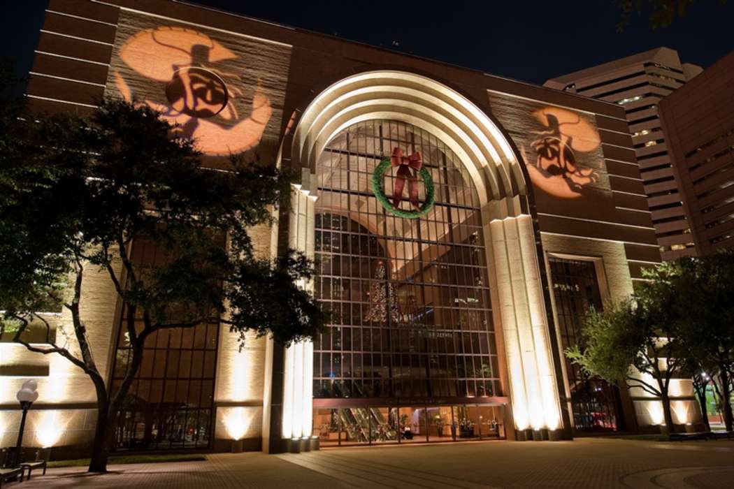 Exterior Night Wortham